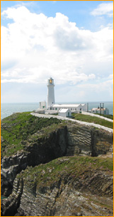 Leuchtturm South Stack, Wales
